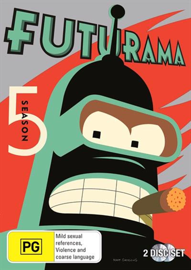 Futurama - Season 5 | DVD