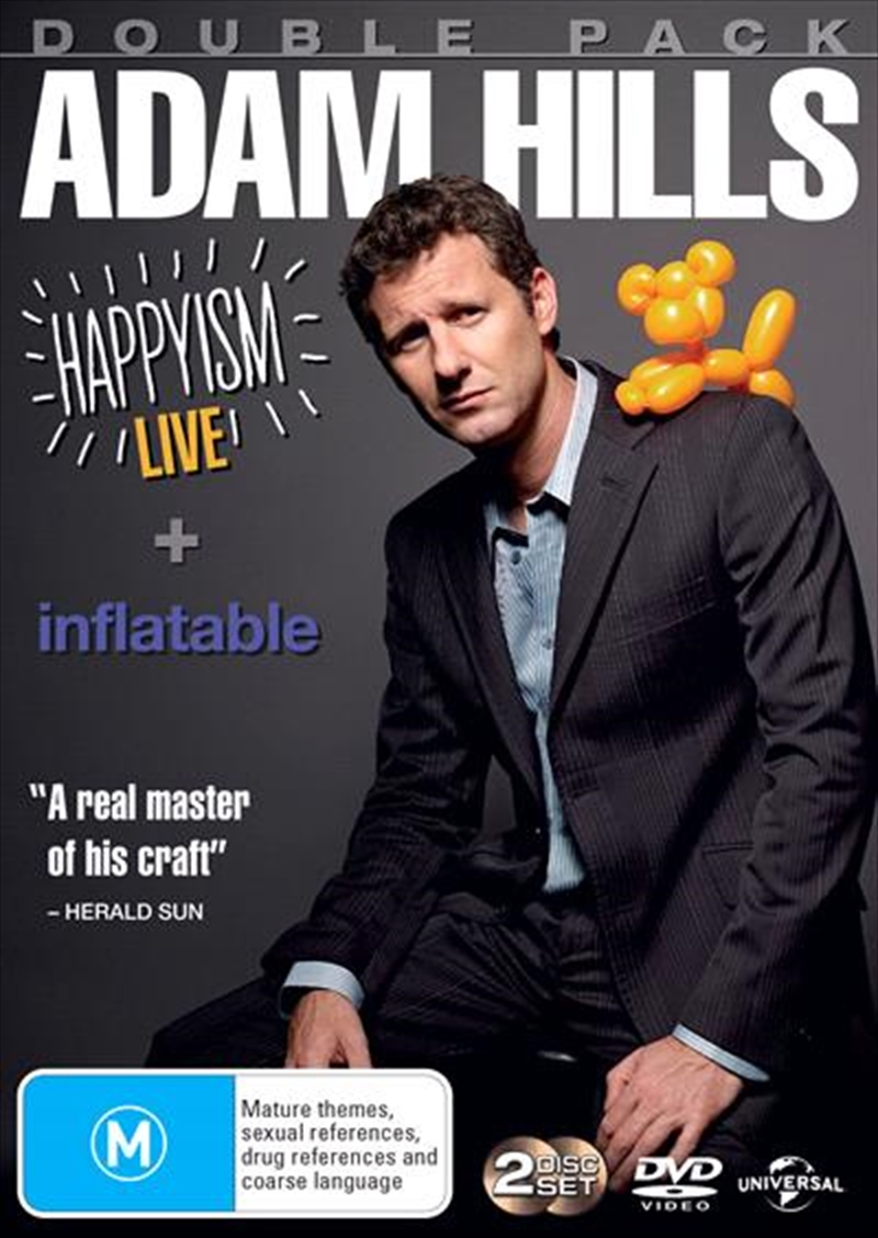 Adam Hills - Happyism - Live 2013 / Inflatable | DVD