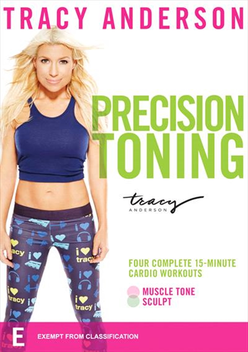 Tracy Anderson: Precision Toning | DVD