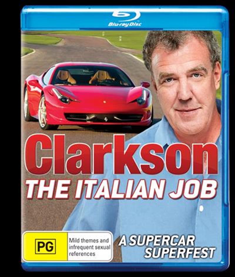 Clarkson: The Italian Job | Blu-ray