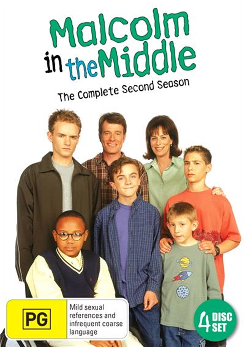 Malcolm In The Middle - Season 2 | DVD