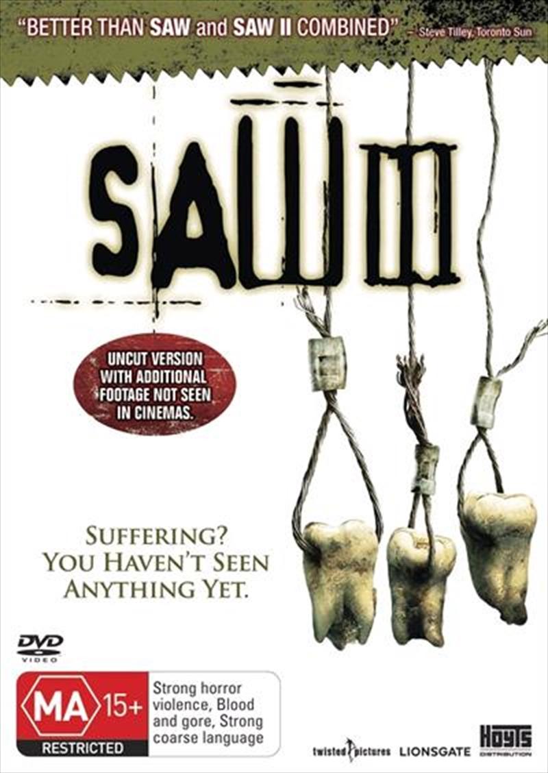 Saw 03   DVD