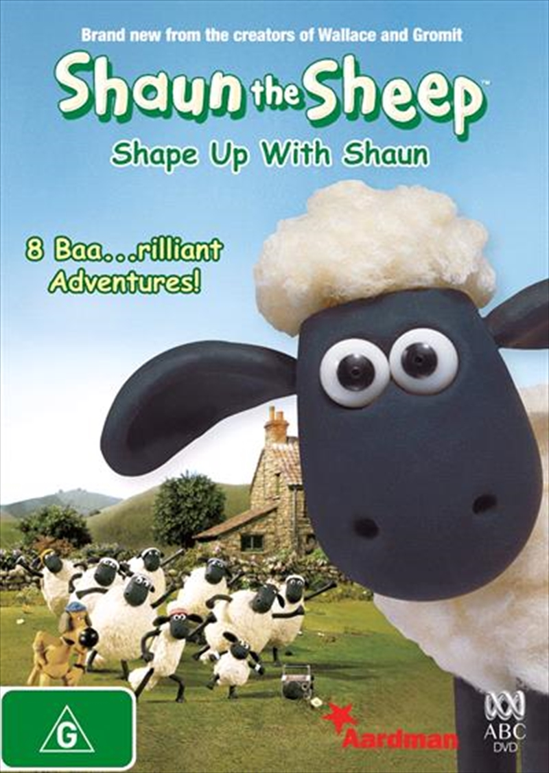 Shaun The Sheep - Shape Up With Shaun | DVD