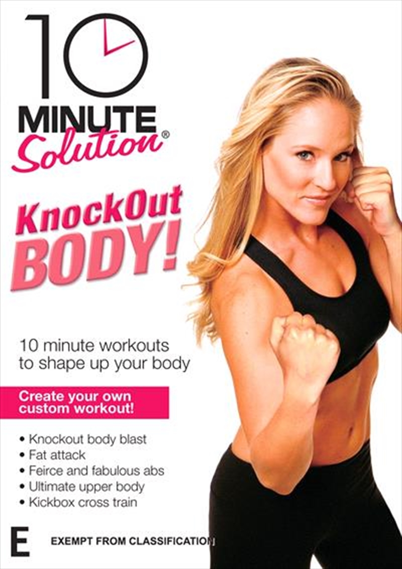10 Minute Solution:Knockout Body | DVD