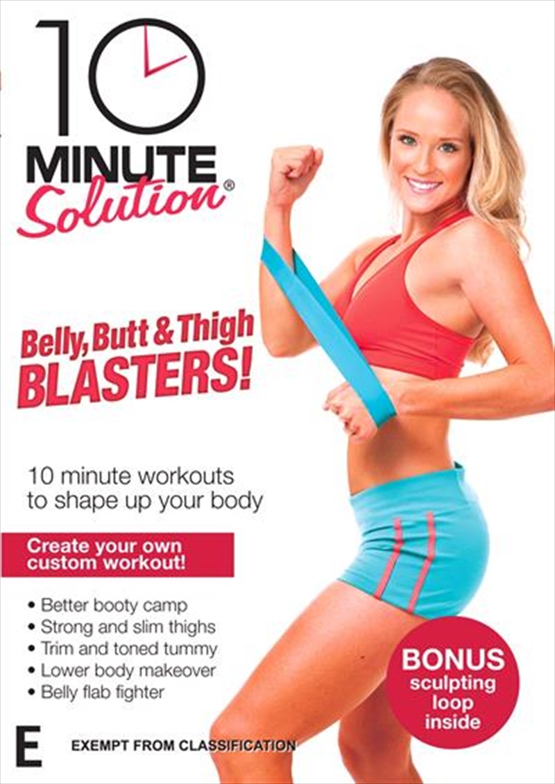 10 Minute Solution: Belly, Butt and Thigh Blasters! | DVD