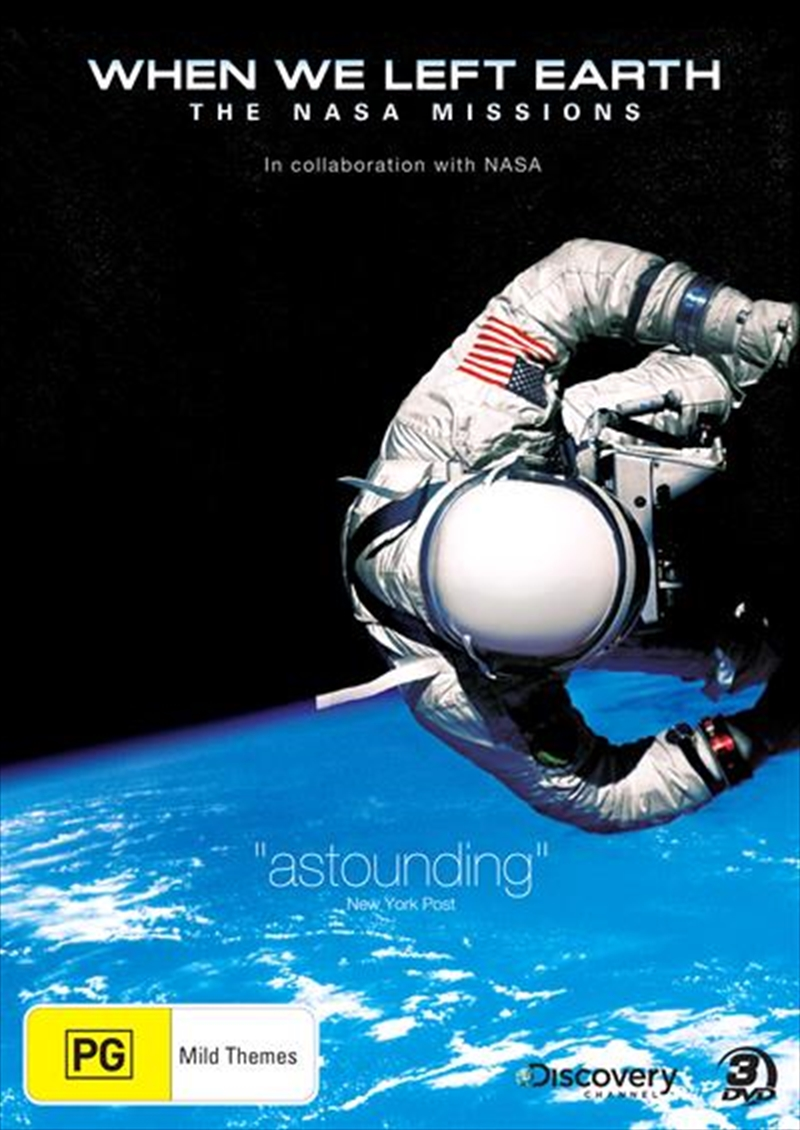 When We Left Earth: The NASA Missions | DVD