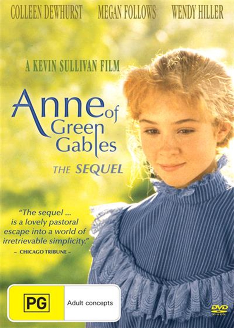 Anne Of Green Gables - The Sequel | DVD
