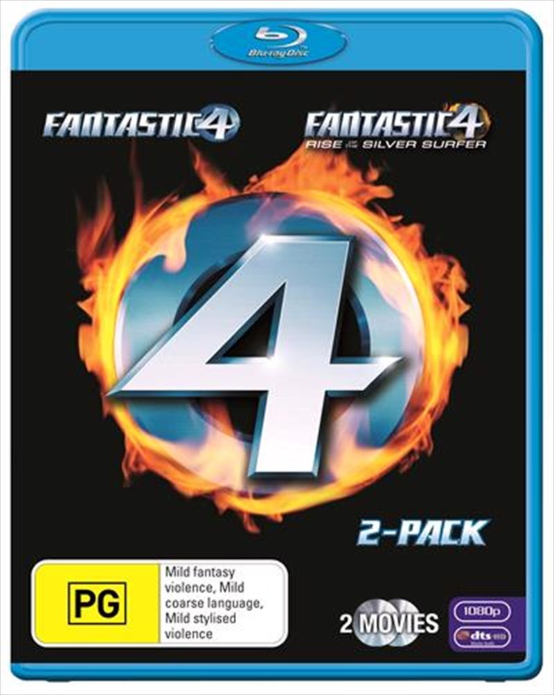 Fantastic Four / Fantastic Four - Rise Of The Silver Surfer | Blu-ray