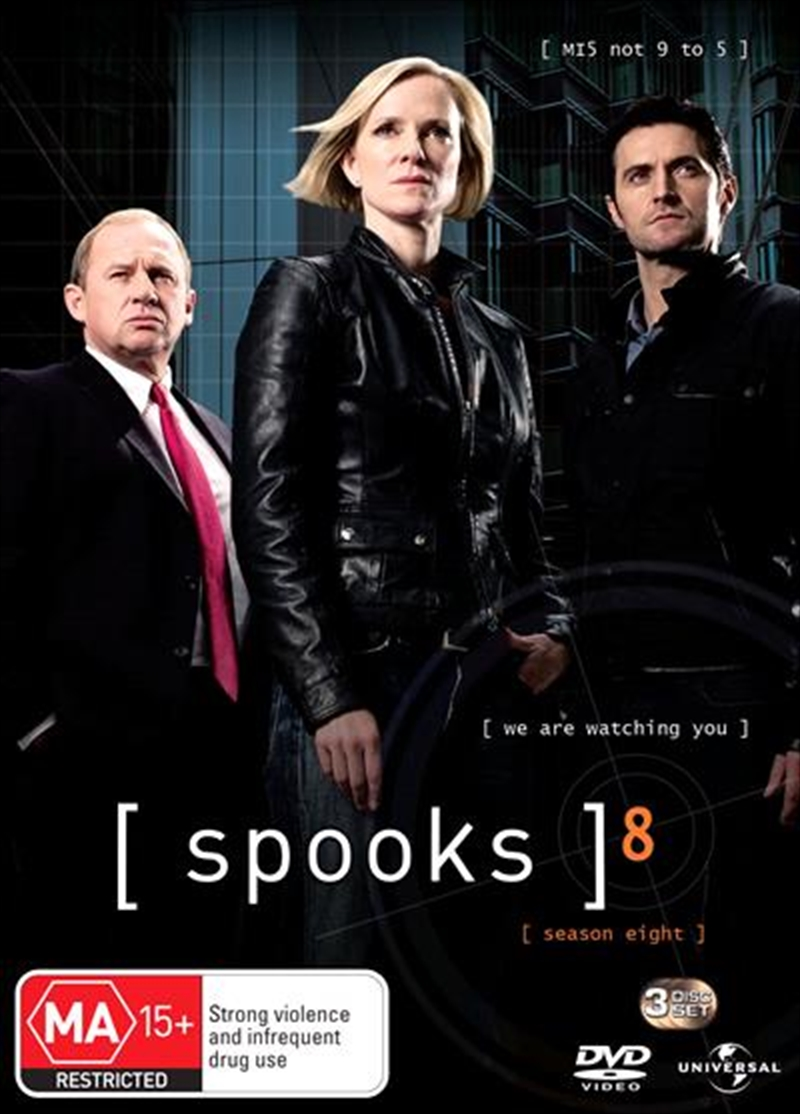 Spooks - Series 08 | DVD