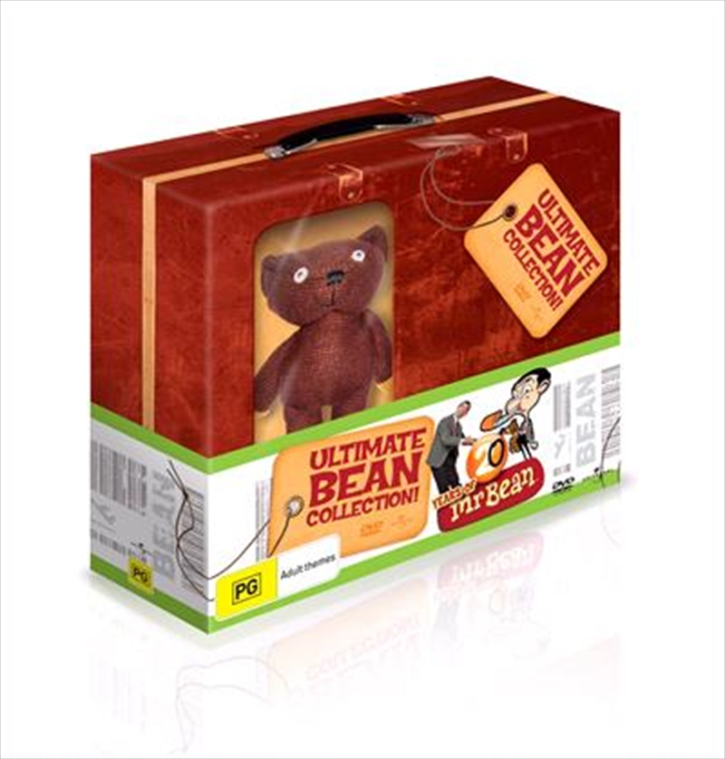 Ultimate Bean Collection 20 Years Of Mr Bean Boxset Suitcase