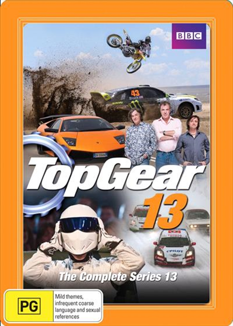 Top Gear: The Complete Series 13 (Steel Book) | DVD