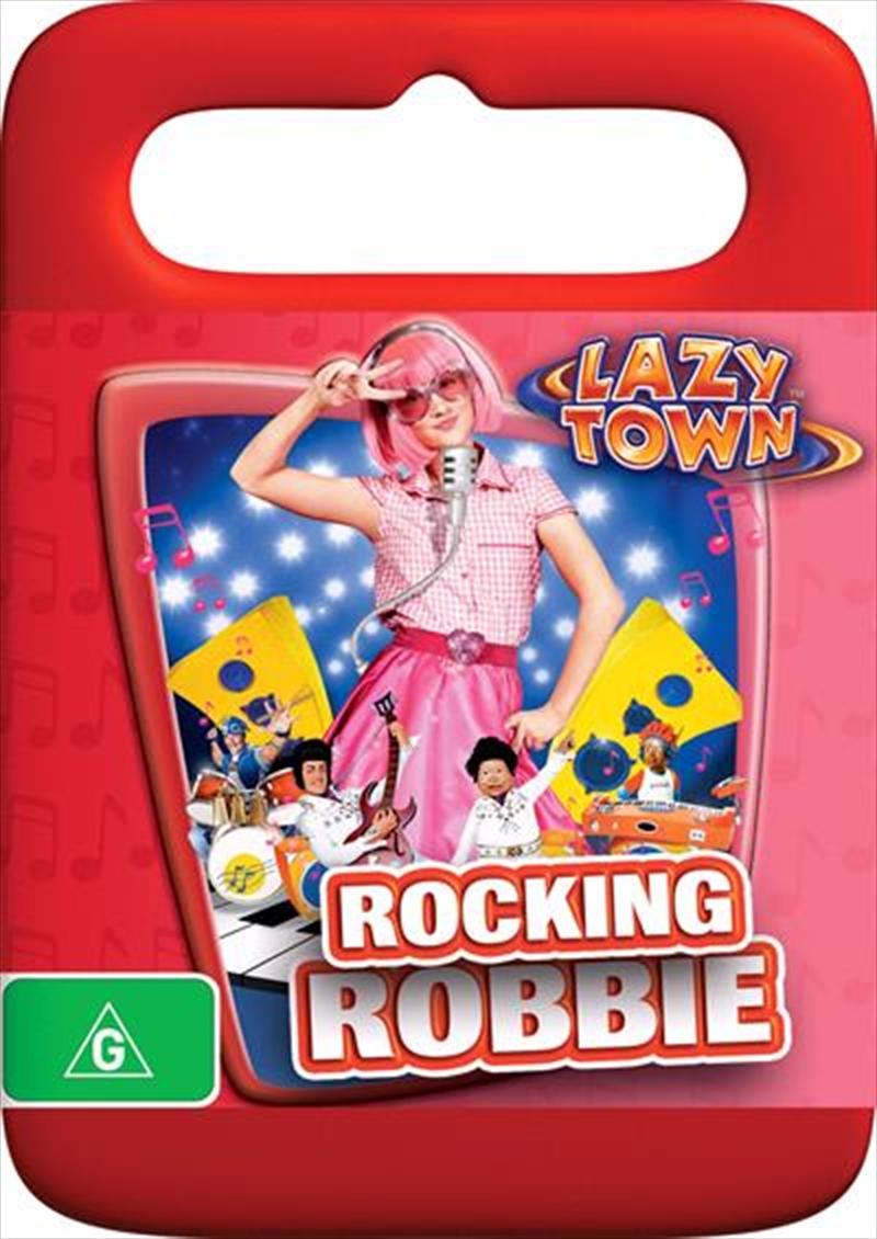 Lazytown Rocking Robbie Childrens Dvd Sanity