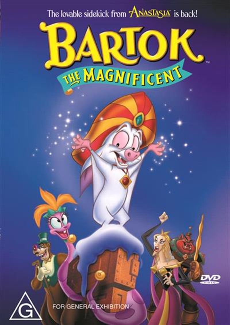 Bartok - The Magnificent | DVD
