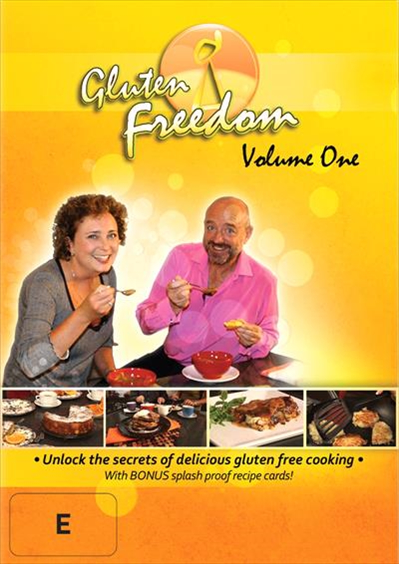 Gluten Freedom: Vol 1 | DVD