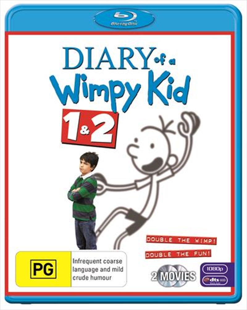 Diary Of A Wimpy Kid / Diary Of A Wimpy Kid 2 | Blu-ray