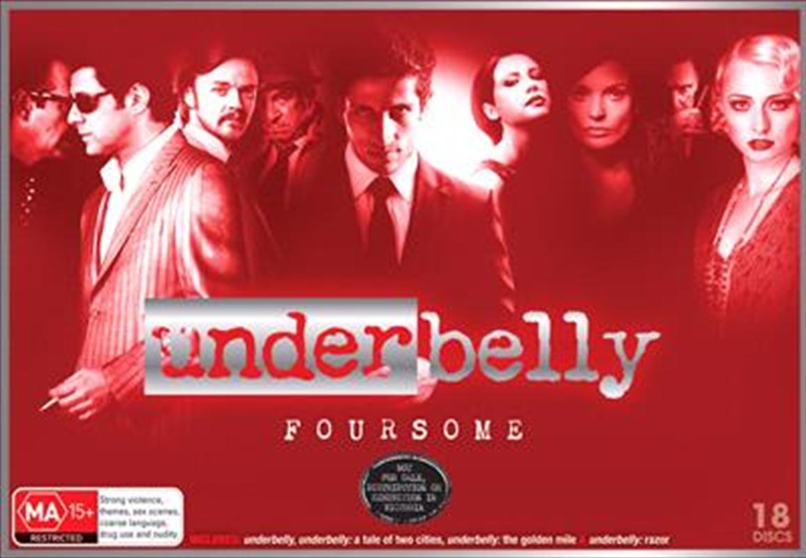 Underbelly - Series 1-4 | Boxset | DVD