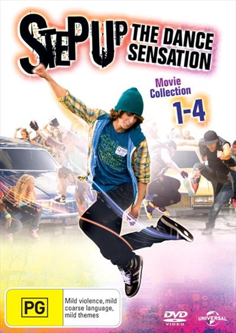 Step Up Quadruple Pack | DVD
