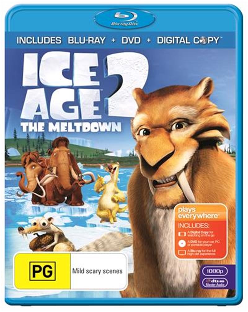 Ice Age 2 - The Meltdown | Blu-ray + DVD + Digital Copy