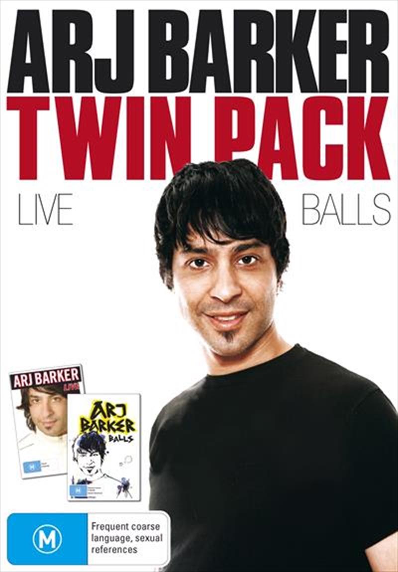 Arj Barker - Twin Pack | DVD