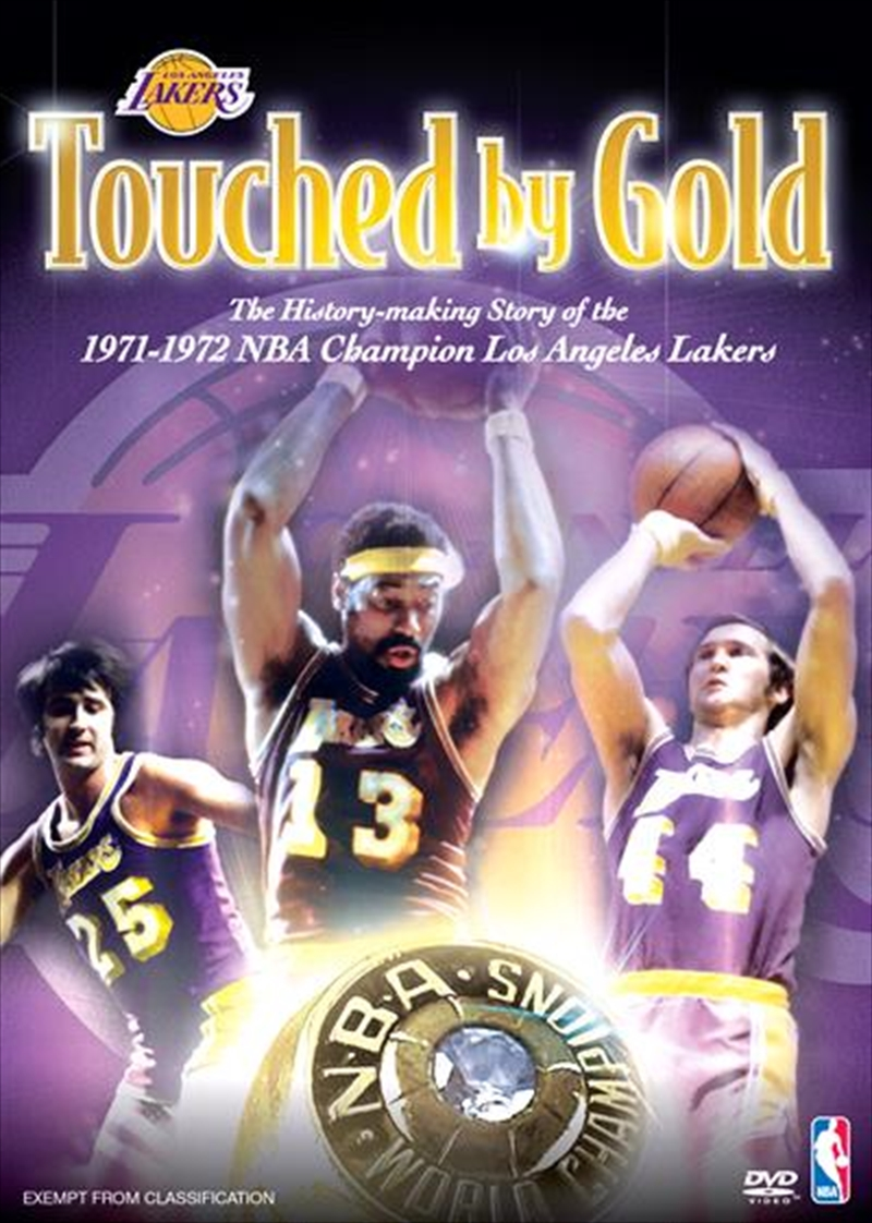 NBA: Los Angeles Lakers 1971-72 Touched By Gold | DVD