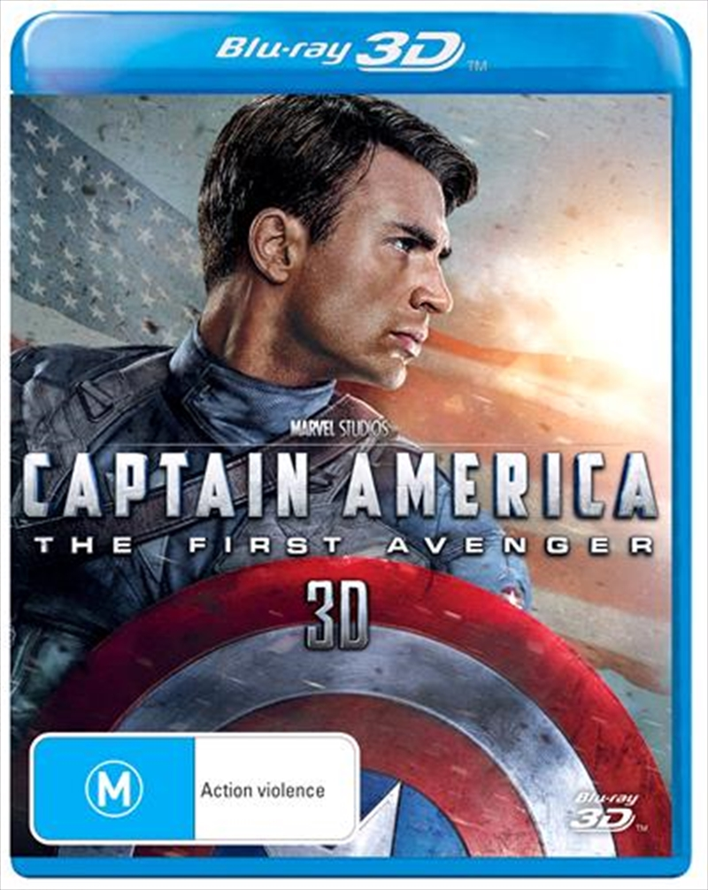 Captain America - The First Avenger | Blu-ray 3D