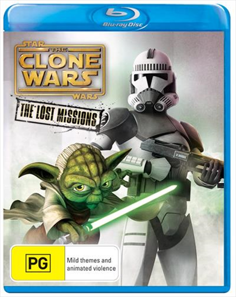 Star Wars - The Clone Wars - The Lost Missions | Blu-ray