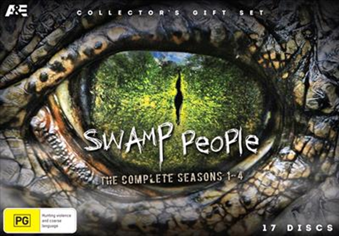 Swamp People - Season 1-4 - Collector's Limited Edition | DVD