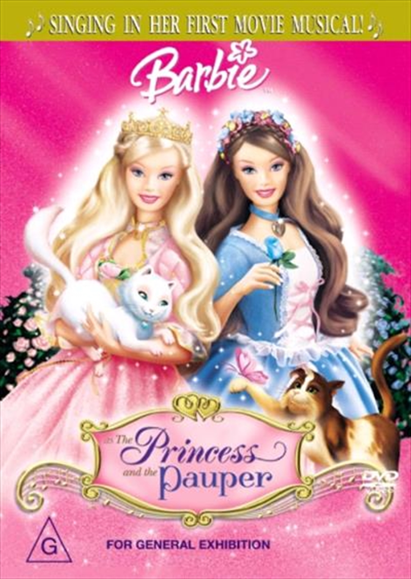 Barbie - The Princess And The Pauper | DVD