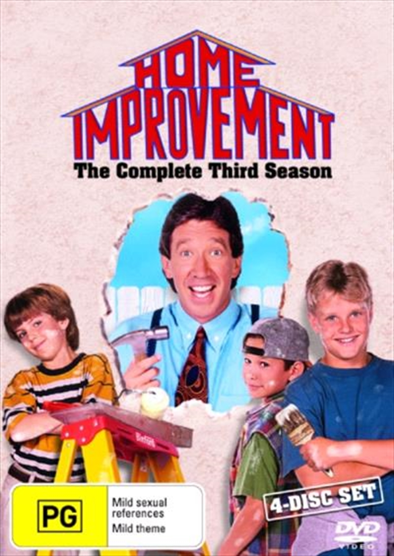 Home Improvement - Season 03 | DVD
