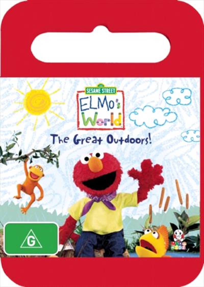 Elmo S World The Great Outdoors Abc Dvd Sanity