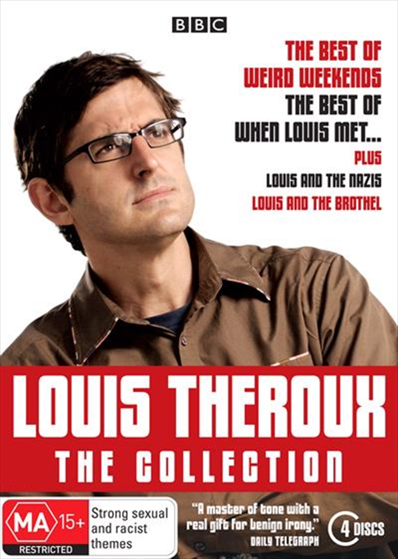 Louis Theroux: The Collection   DVD