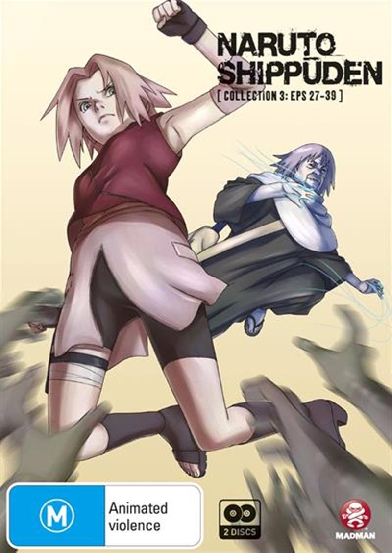 Naruto Shippuden - Collection 3 - Eps 27-39 | DVD