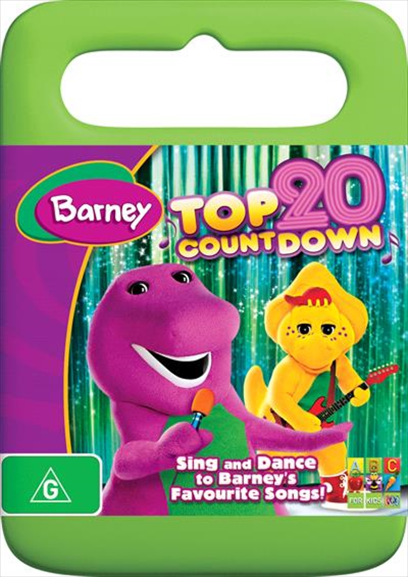 Barney Top 20 Countdown Abc Dvd Sanity