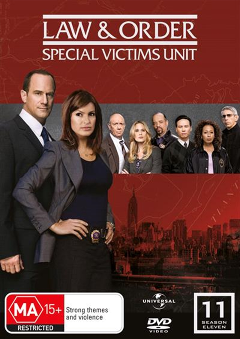 Law And Order: Special Victims Unit - Season 11 | DVD