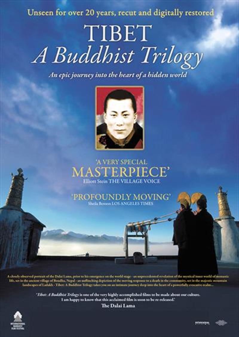 Tibet: A Buddhist Trilogy | DVD