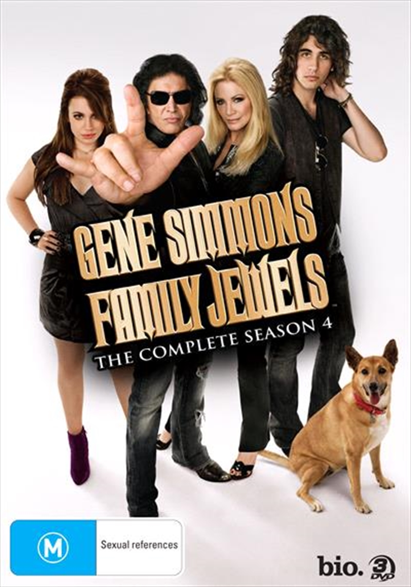 Gene Simmons' Family Jewels - The Complete Fourth Season | DVD