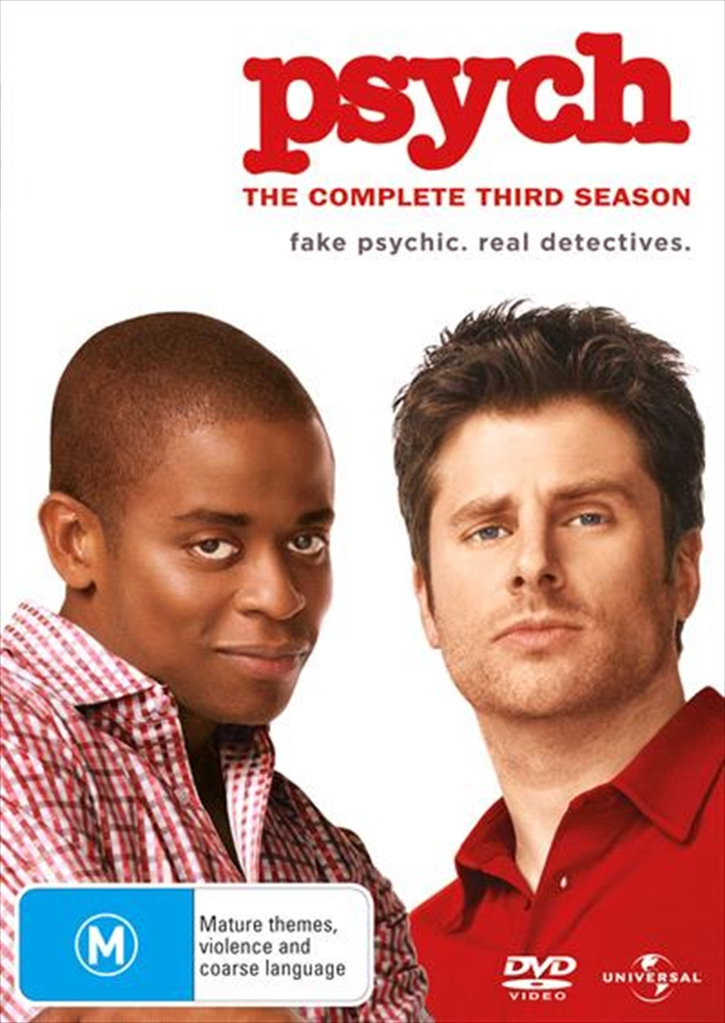 Psych - Season 3 | DVD