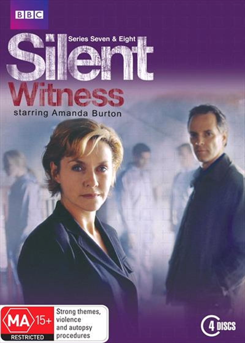 Silent Witness - Series 7 and 8 | DVD