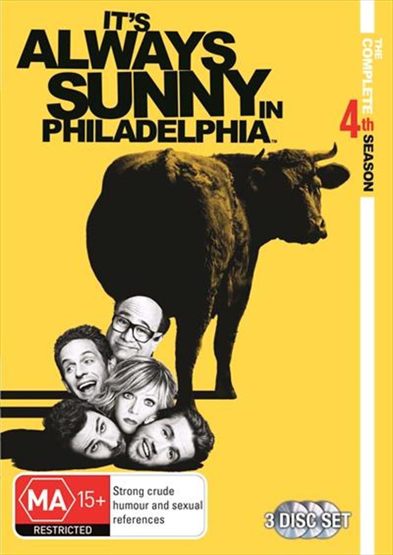It's Always Sunny In Philadelphia - Season 04 | DVD