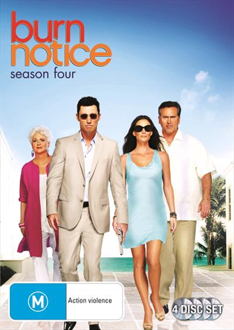 Burn Notice - Season 4 | DVD
