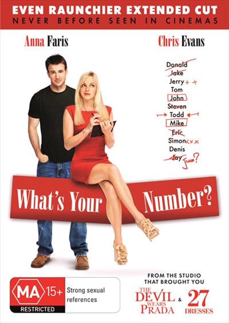 What's Your Number? | DVD