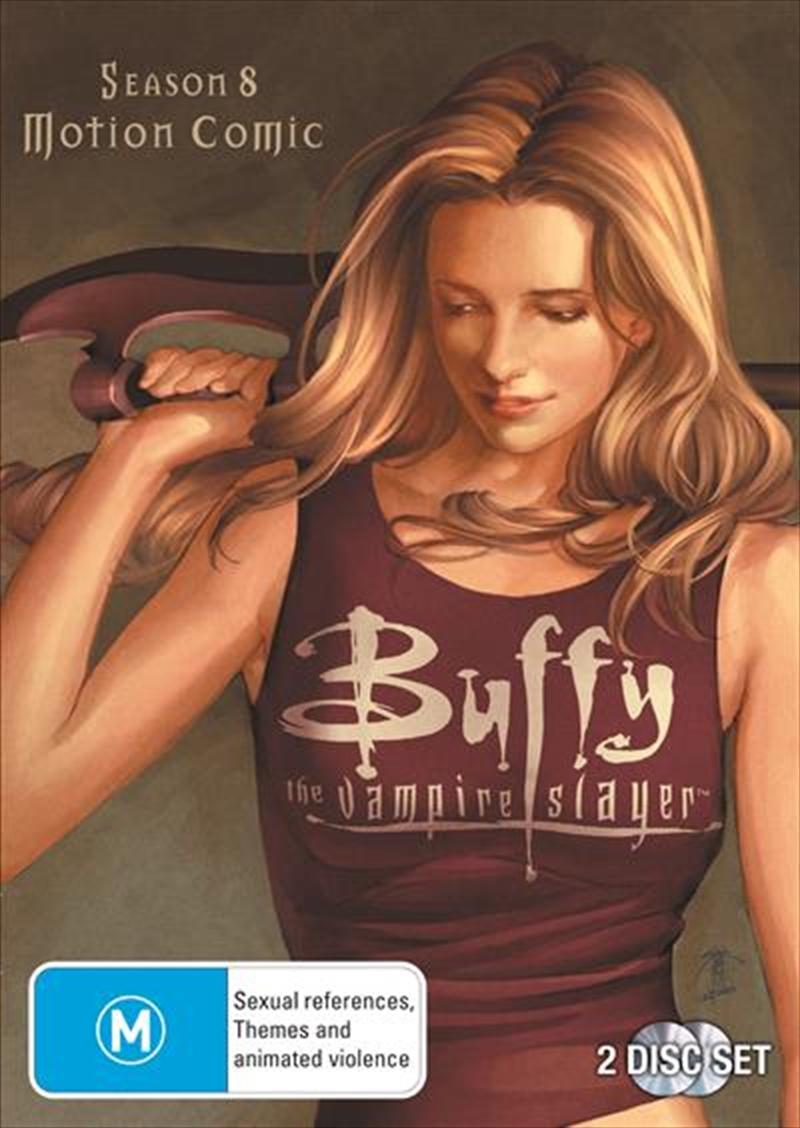 Buffy The Vampire Slayer - Season 8 | Motion Comic | DVD