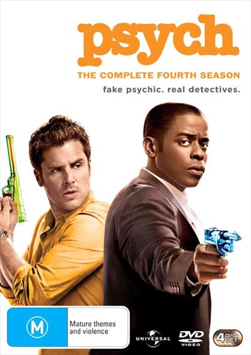 Psych - Season 4 | DVD