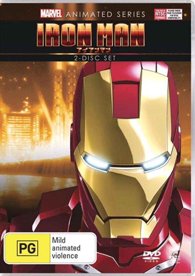Marvel Animated Series - Iron Man | DVD