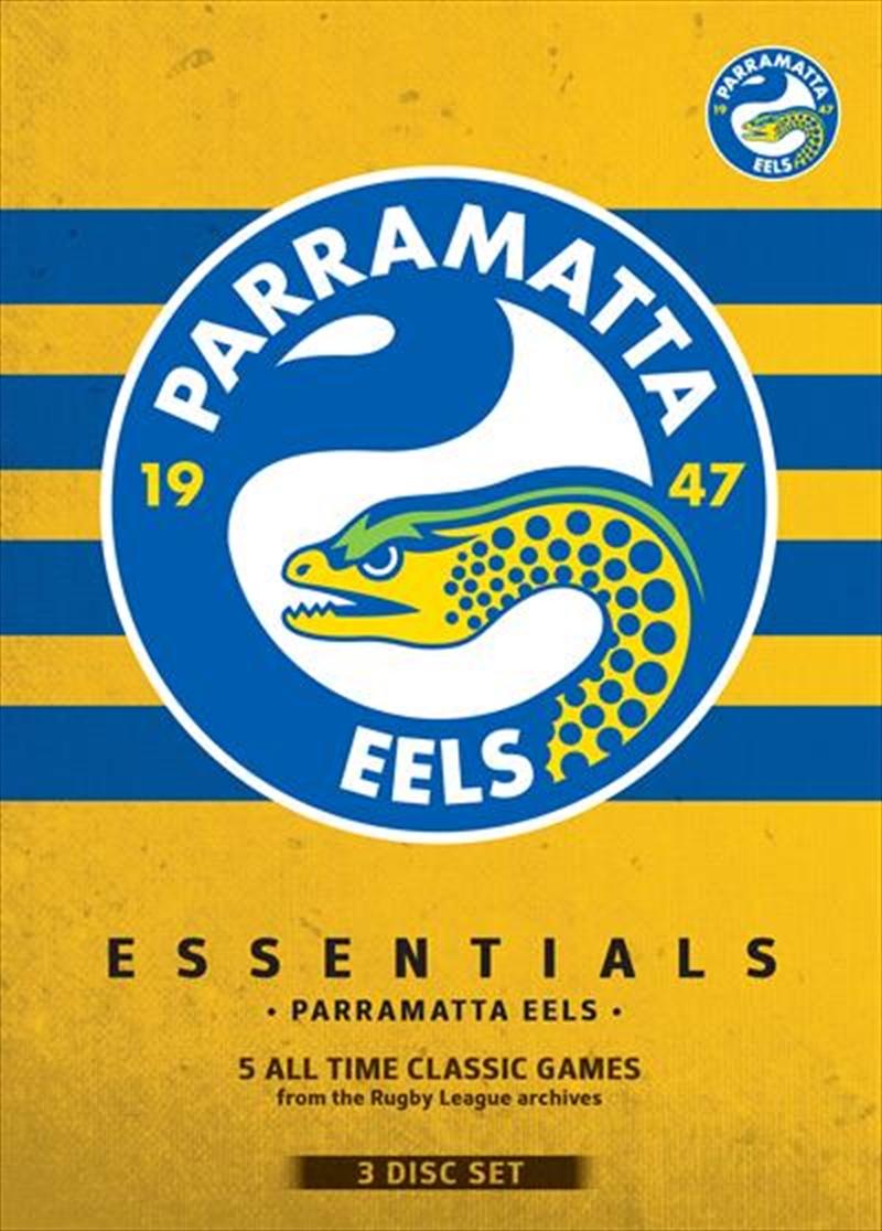 NRL: Essentials:  Parramatta Eels   DVD