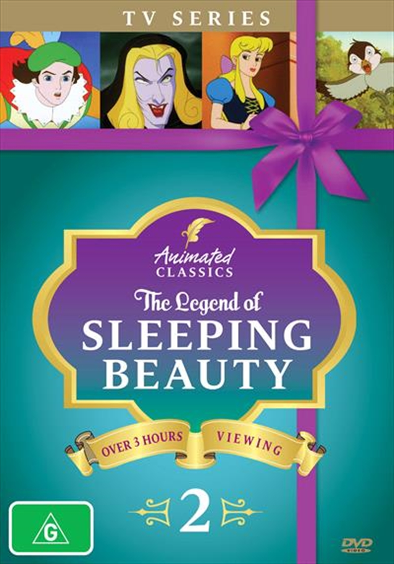 Animated Classics - The Legend Of Sleeping Beauty - Vol 2   DVD