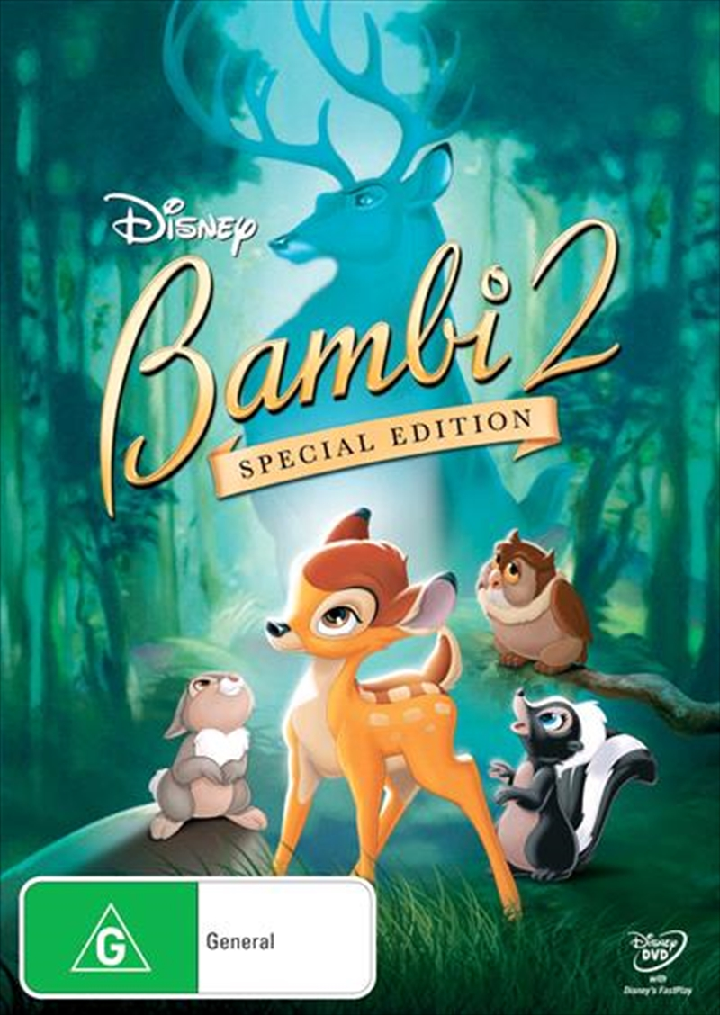Bambi II: The Great Prince of the Forest Special Edition | DVD