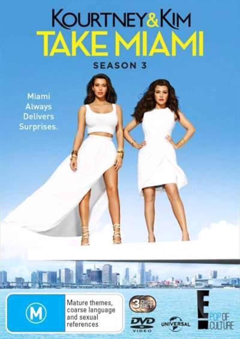 Kourtney and Kim Take Miami - Season 3 | DVD