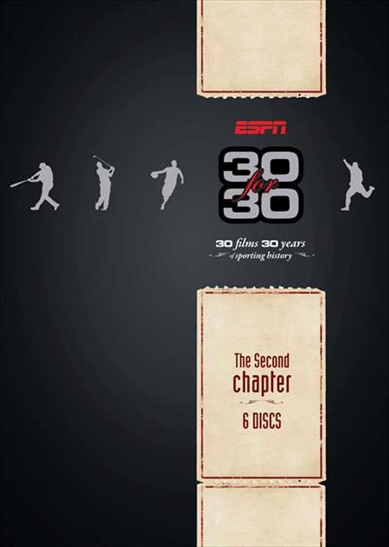 ESPN: 30 For 30:  The Second Chapter | DVD