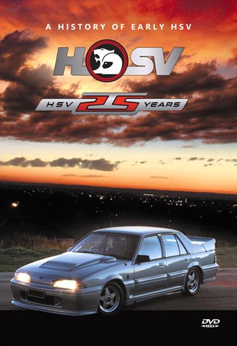 25 Years Of HSV | DVD